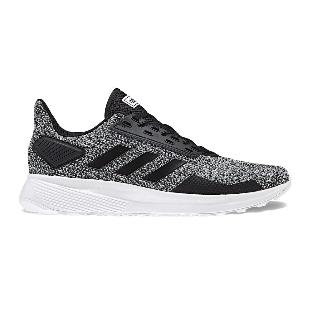 wholesale dealer d7feb da2aa Adidas Cloudfoam Duramo 9 Knit Men s Sneakers, Size  10 Wide, Black
