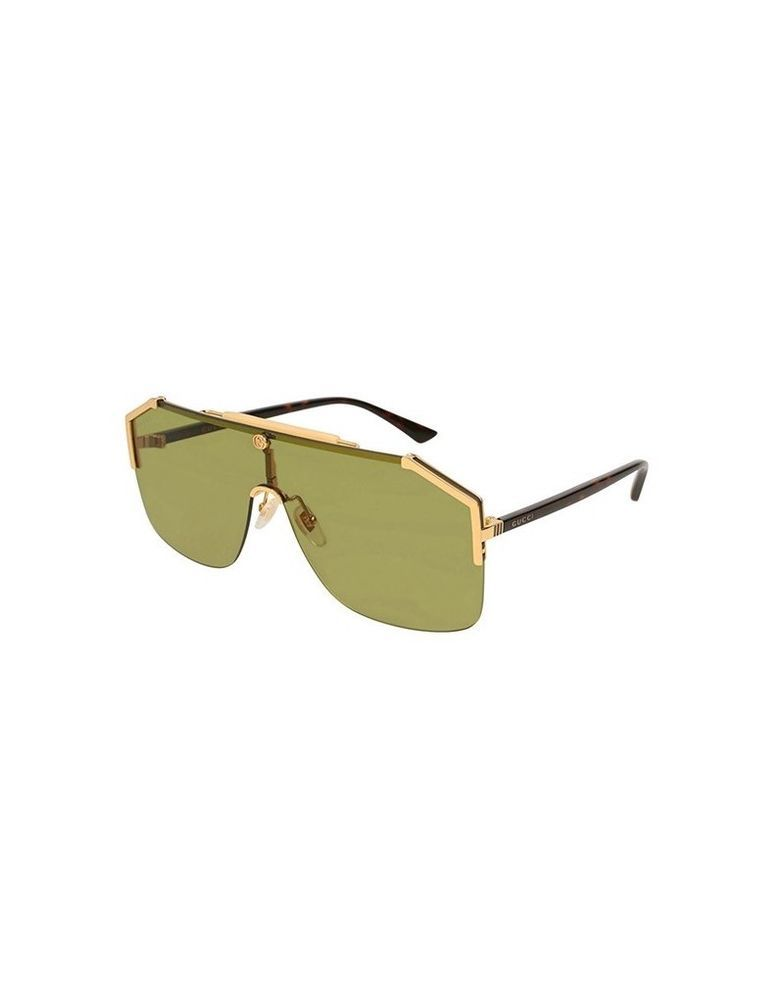 7af4cea6318 eBay  Sponsored Sunglasses GUCCI original GG0291 S 004 99-01 Gold Havana  Green