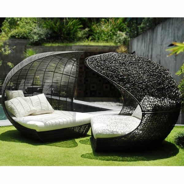 Le salon de jardin et le plaisir du choix