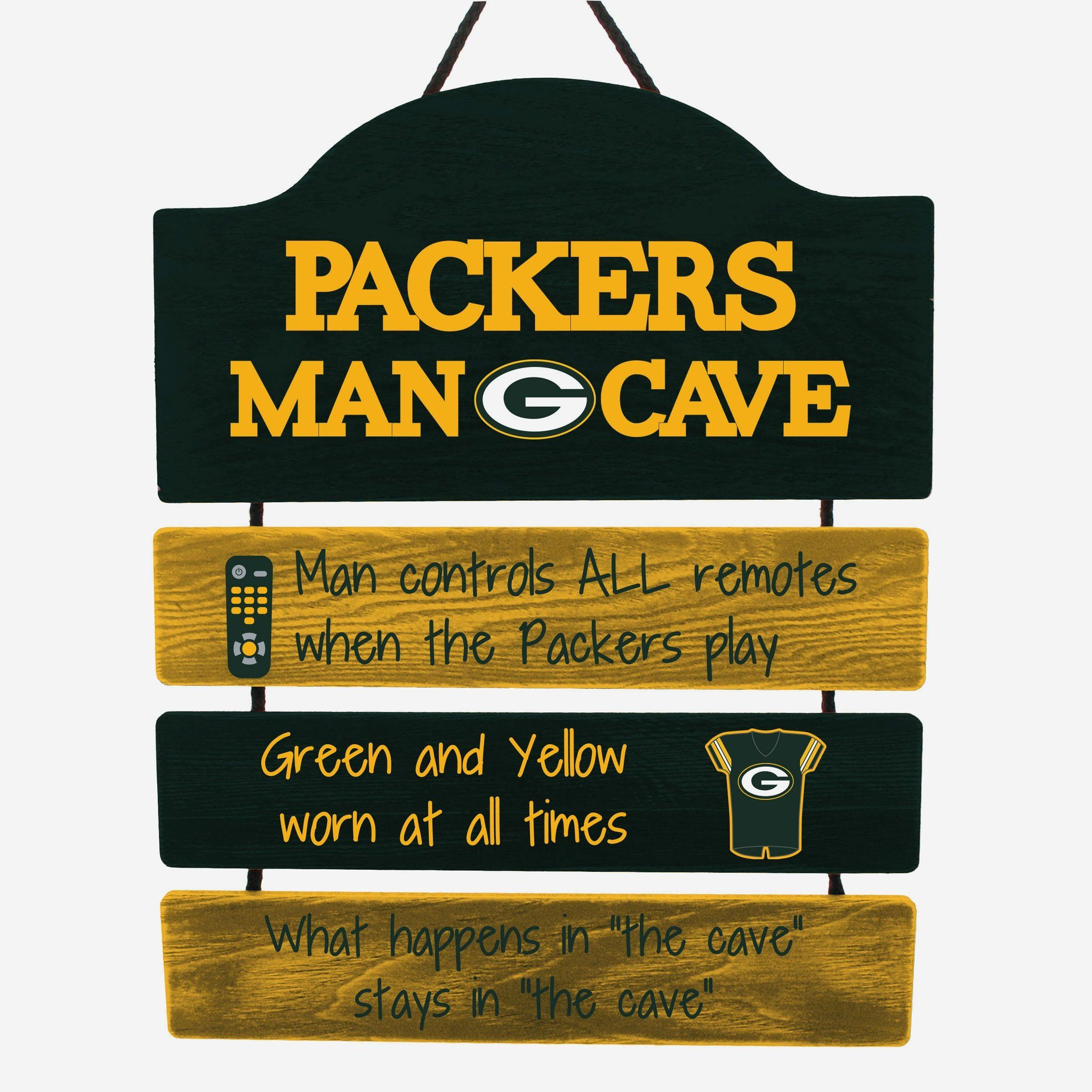 Green Bay Packers Mancave Sign In 2020 Green Bay Packers Man Cave Man Cave Design Man Cave Signs