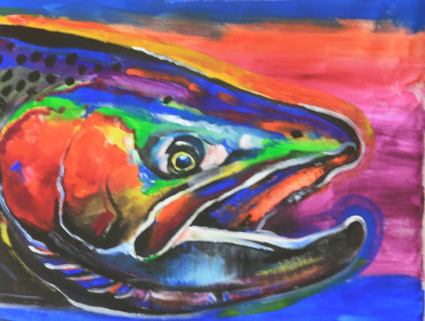 Nat royal art fly fishing trout trout fish pinterest for Fly fishing art