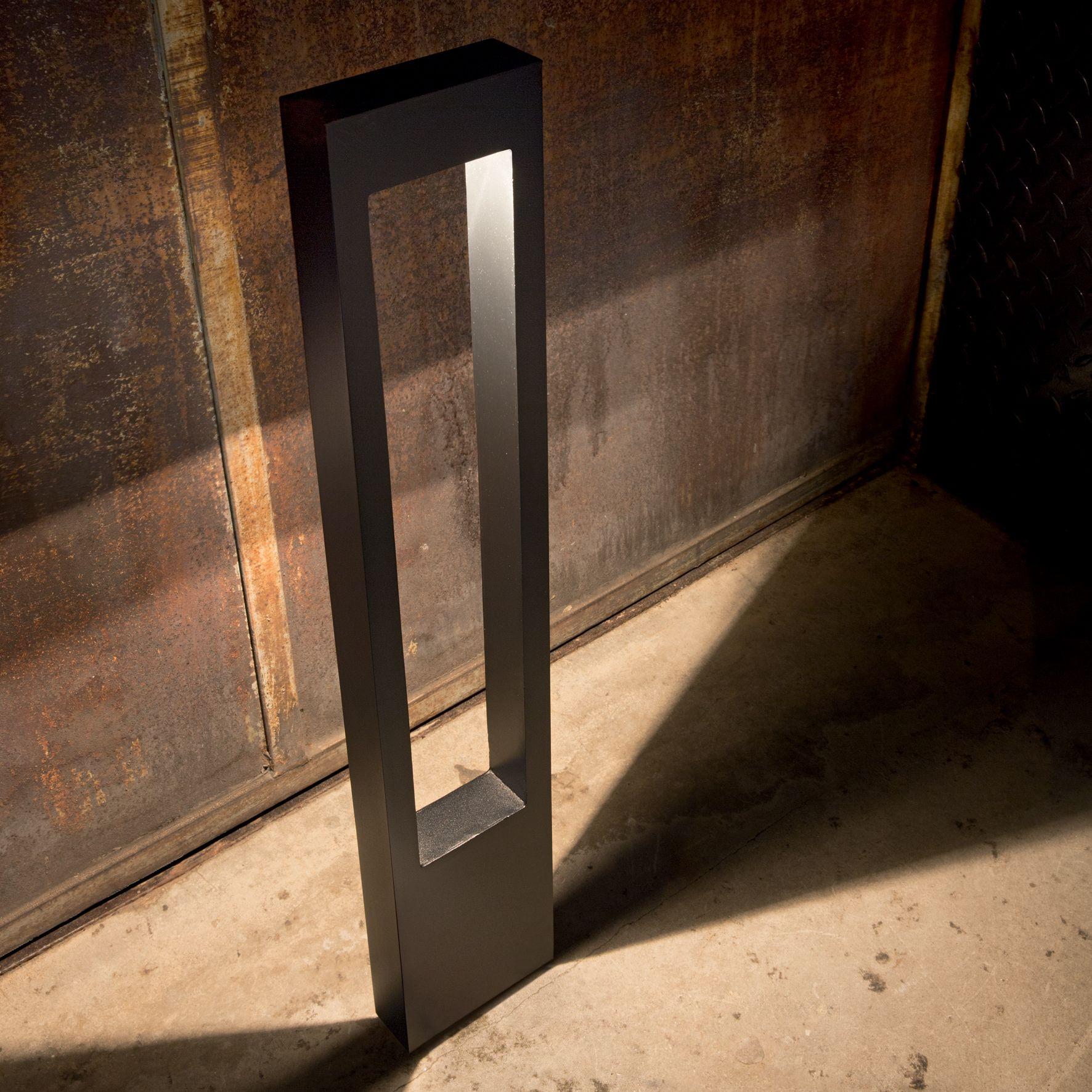Paletti Illuminazione Esterna Led.Paletto Per Esterno Moderno 1 Luce Vega Antracite