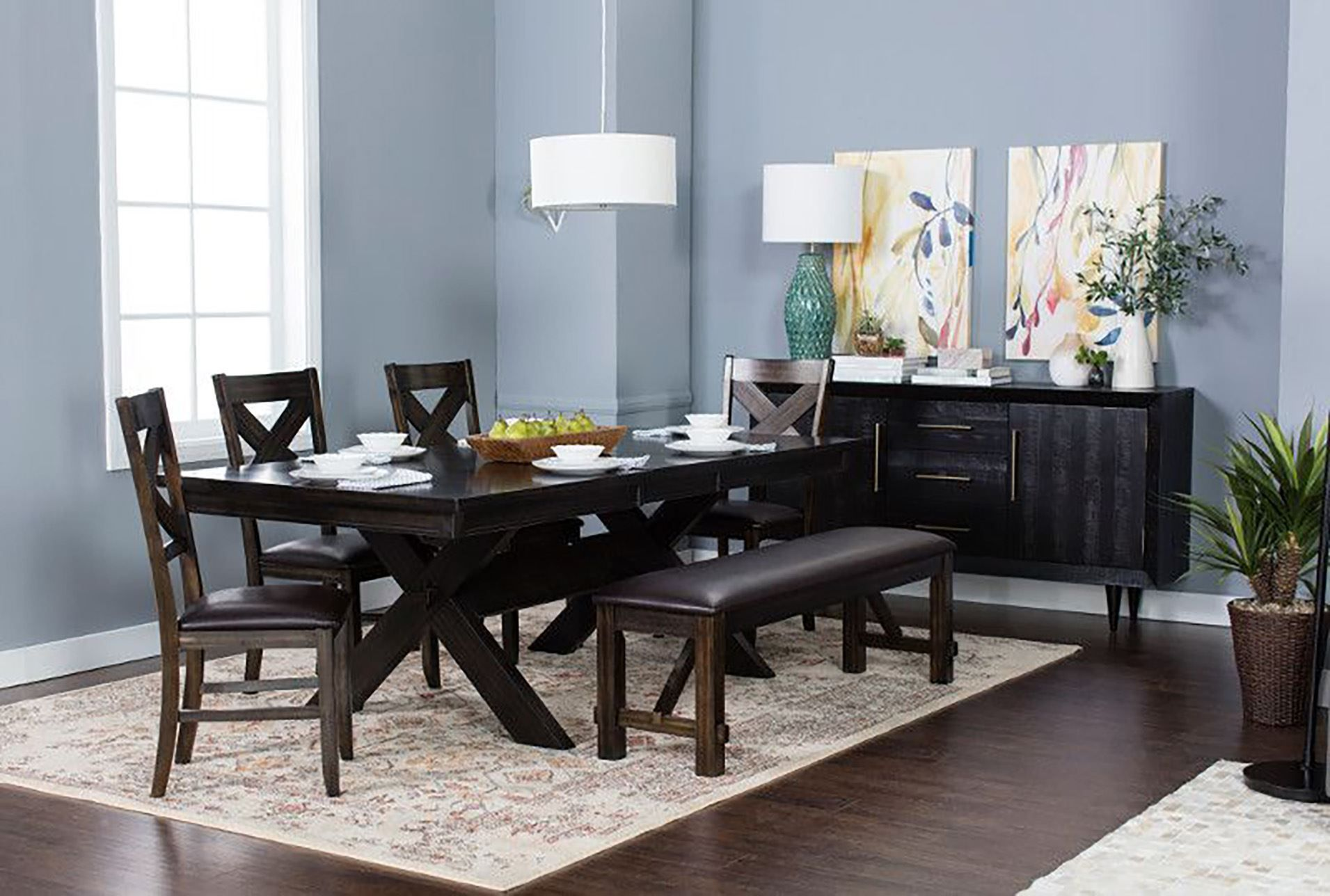 A Solid Timeless Functional Dining Table Is Such An Important Impressive Dining Room Table Sets For Small Spaces Inspiration Design