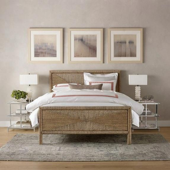 Mallory Woven Seagrass Bed Spanishstyle Spanish Style In 2019