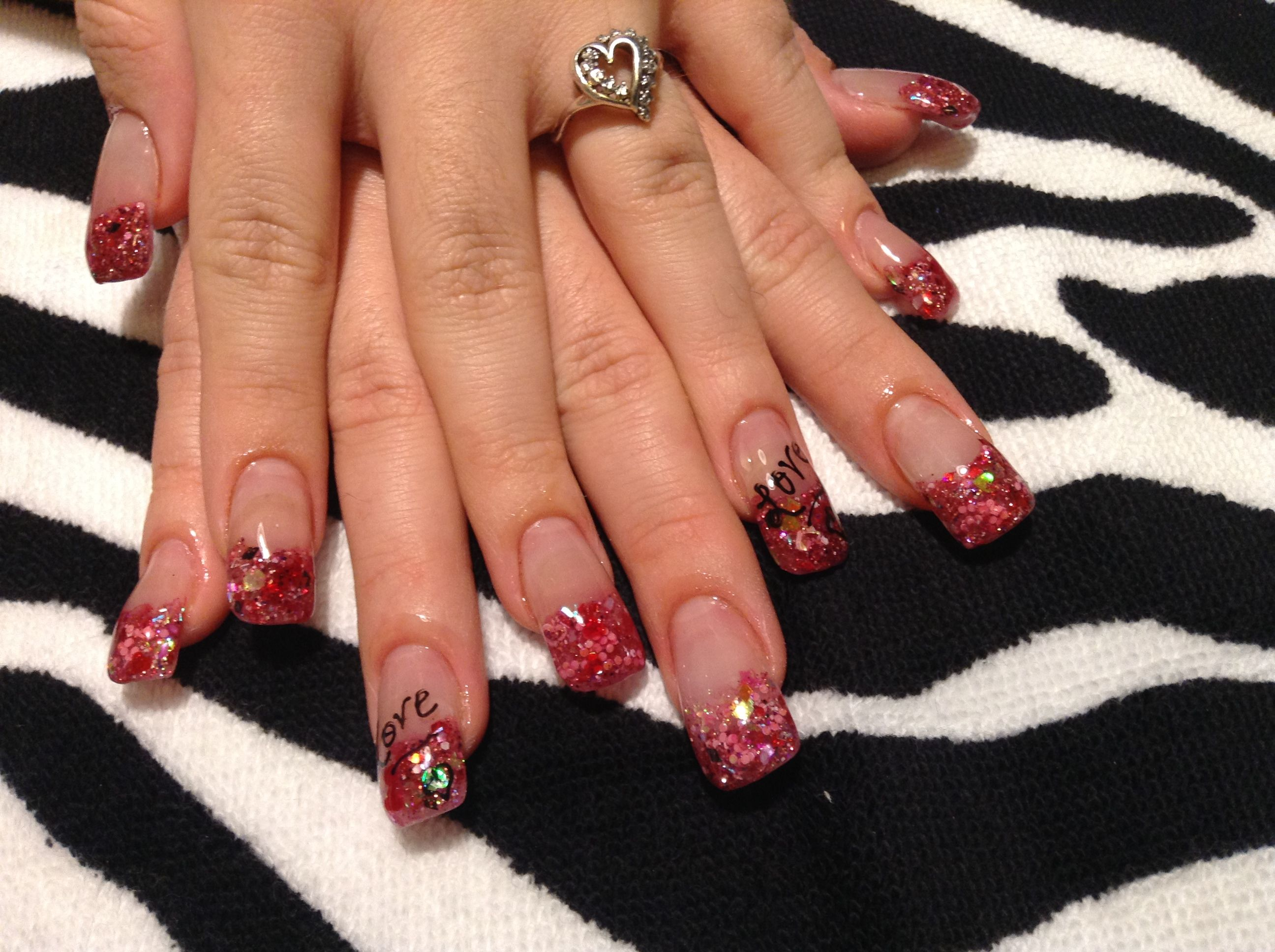 Stylish Nail Art For Valentines Day 2014 For Women Ideas Jpg 2592 1936 Valentine Nail Art Stylish Nails Art Valentines Nails