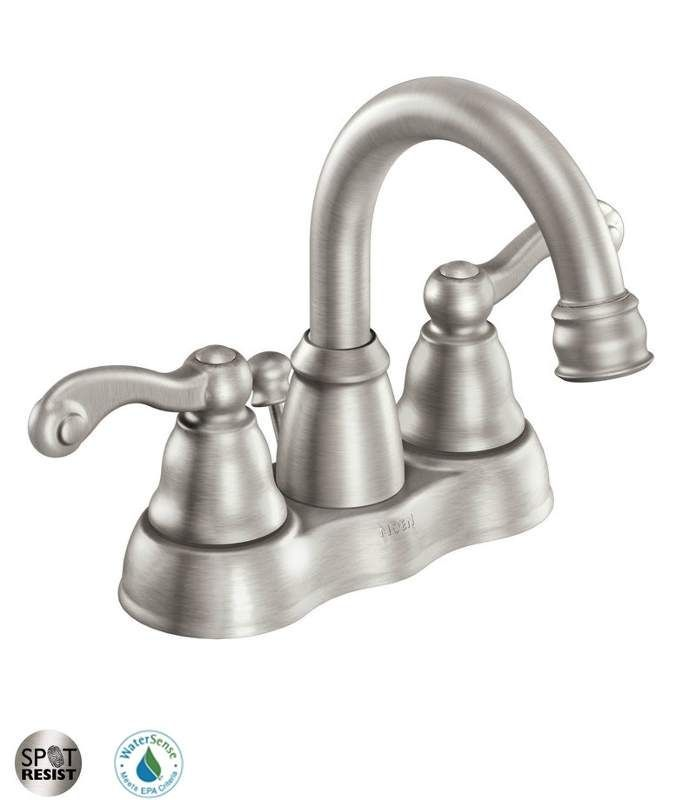 View The Moen 84003 Double Handle Centerset Bathroom Faucet From
