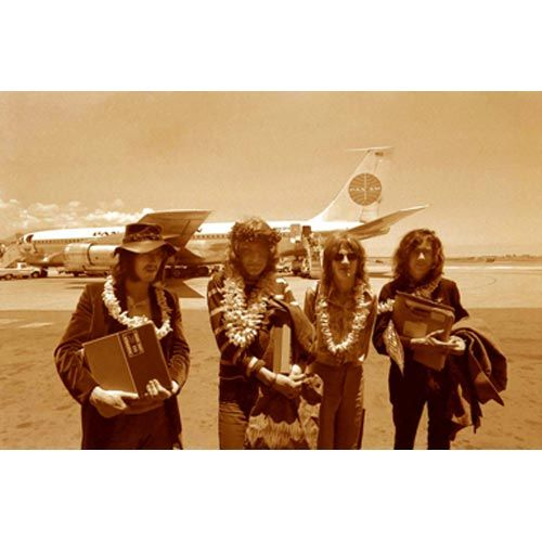 "Robert Knight Fine Photography - ""Zeppelin Honolulu Airport"" - 16'x20 Edition 250 - 30""x40"" Edition 50. See the collection: http://www.rockstargallery.net/robert-knight #robertknight  #ledzeppelin  #rockstargallery"