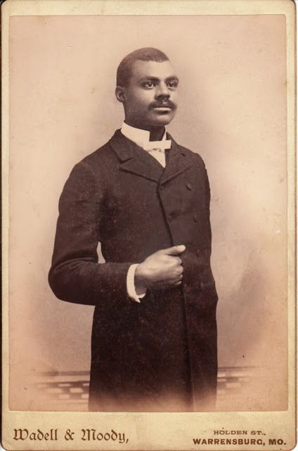 The Handsome African American Gentleman from Warrensburg, Missouri. WOW!! I used…
