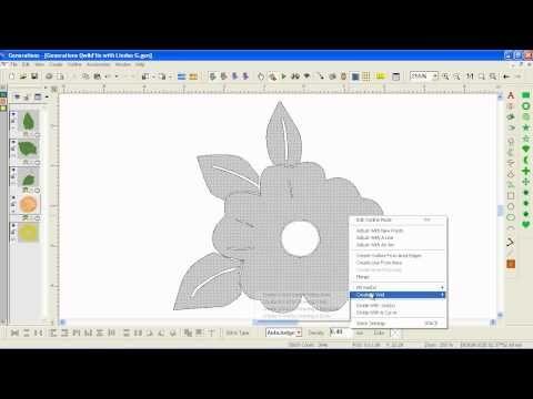 Auto Digitizing Removing Background Colour - YouTube
