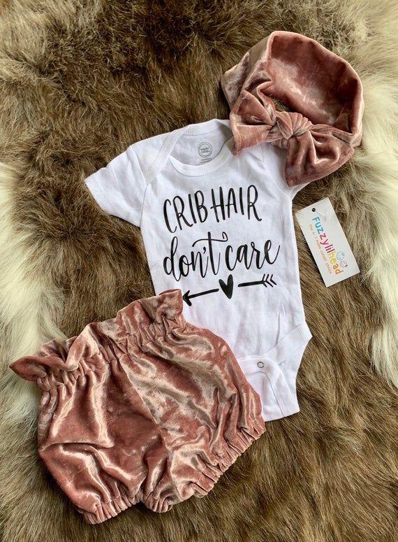 Baby girl crushed velvet rose bloomer Set, Oversized Baby girl headband , bloomies for little girls,Baby Bummies, fall winter, Diaper Cover #babygirlheadbands
