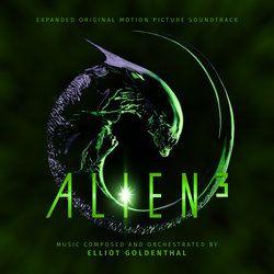 Alien 3 Soundtrack (Elliot Goldenthal) - CD cover | Soundtracks