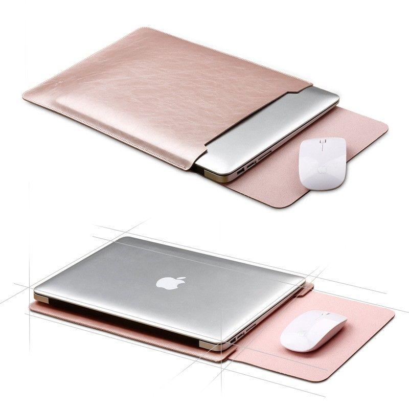 Pu Funda De Piel Para Apple Macbook Air Pro Retina 11 6 12 13 3 15 4 Pulgadas Para Portátiles Male Accesorios De Computador Macbook Accesorios Para Macbook Air
