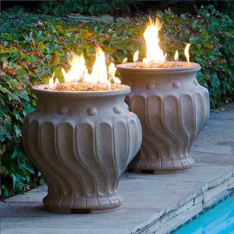 Etruscan Fire Urn