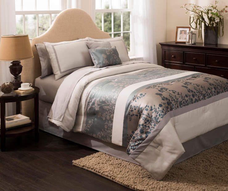 Aprima Cambridge King 10 Piece Comforter Set Comforter Sets