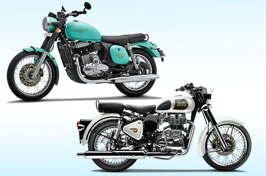 Jawa Forty Two Vs Royal Enfield Classic 350 Specifications