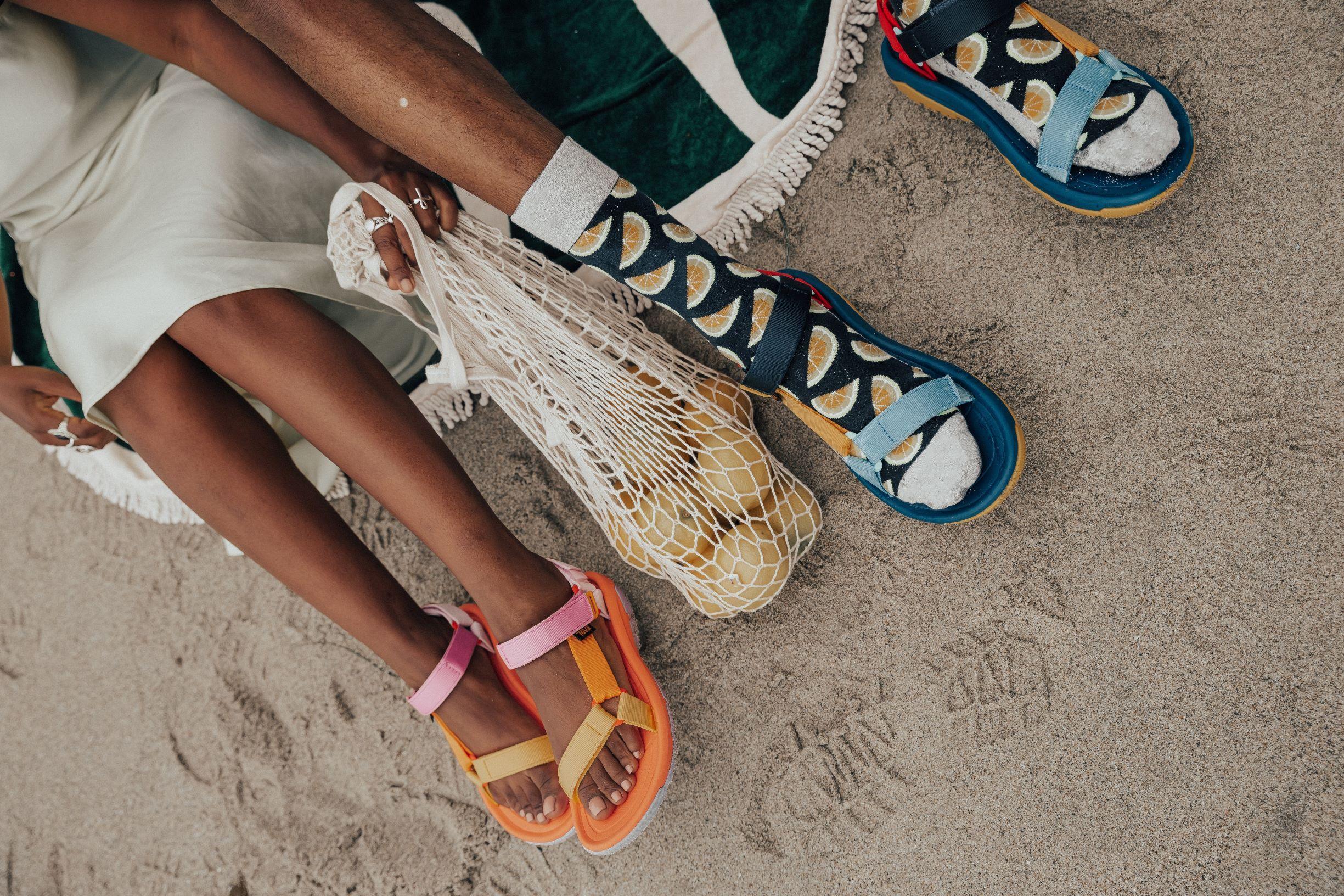 Feelin Beachy Keen In The New Ov X Teva Collab Sandals Teva Hiking Shoes Women Best Running Shoes