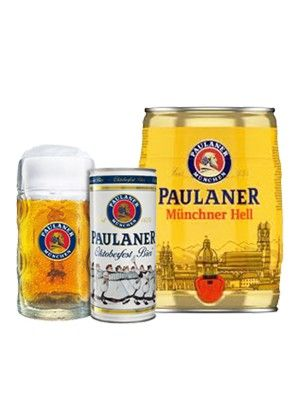 Paulaner Munich Lager & Paulaner Oktoberfest Bier Can ...