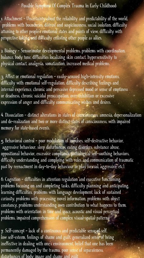 Ptsd Symptoms My Entire Lifethis Describes Me In Every Detail