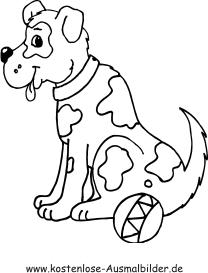 Ausmalbild Hund Ausmalbilder Hunde Hunde Husky Hund