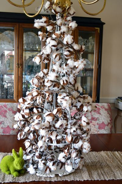 Creations High Cotton Tree Cotton Decor Christmas