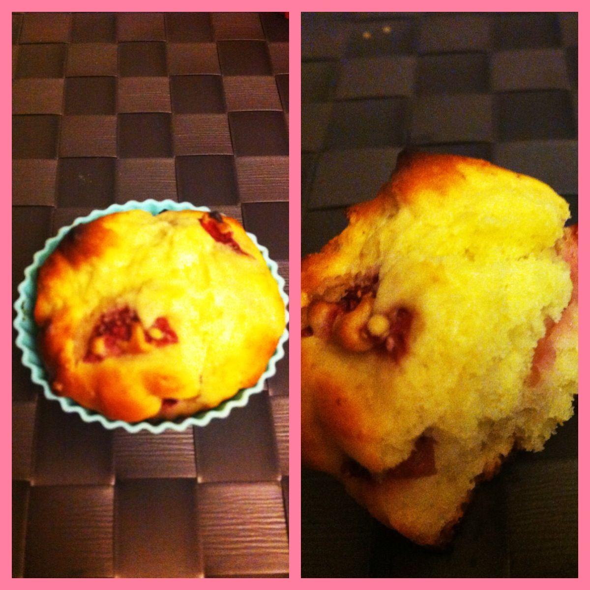 Muffins fresa-ricota