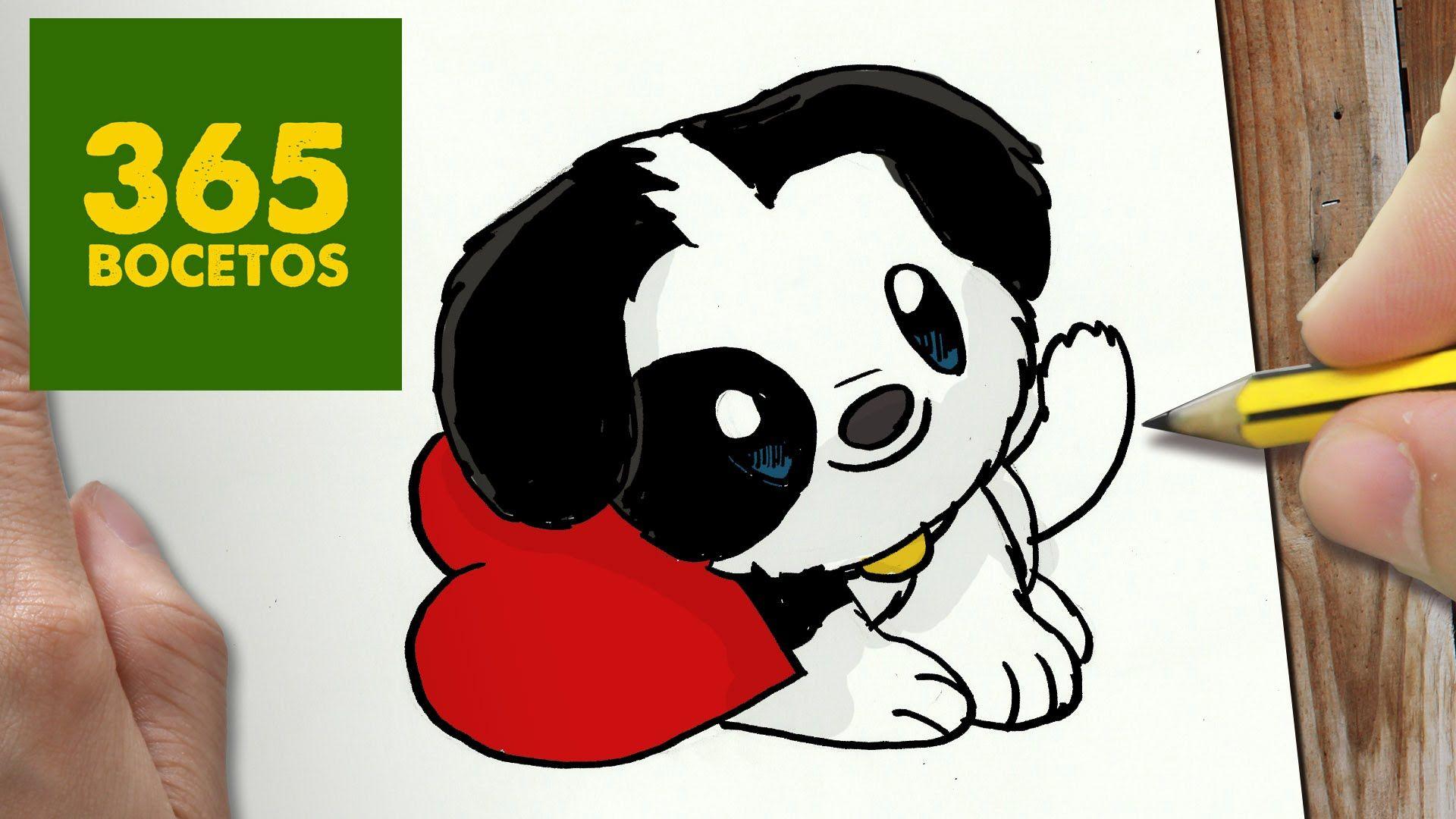 Resultado De Imagen Para 365bocetos Perros 365 Dessins Kawaii
