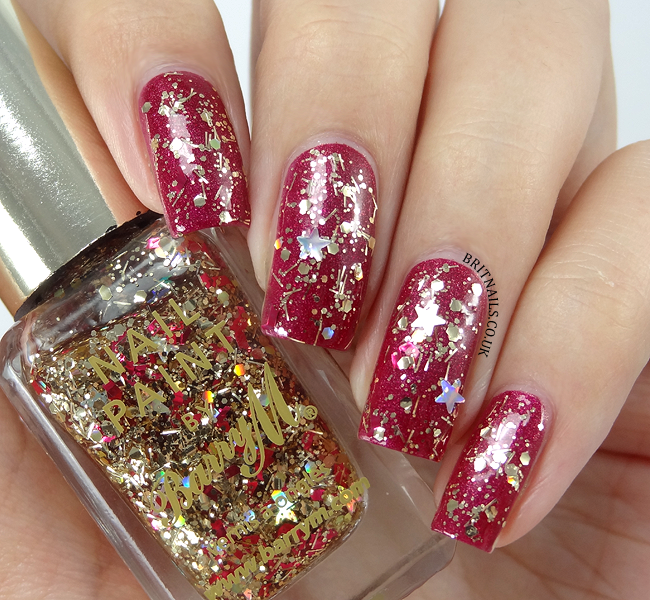 Brit nails barry m jingle bells and christmas tree swatches and brit nails barry m jingle bells exclusive to superdrug prinsesfo Image collections