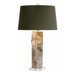 Arteriors - Arteriors 49604-600 Fargo Wood/Acrylic Cylinder Lamp - Arteriors 49604-600 Fargo Wood/Acrylic Cylinder Lamp