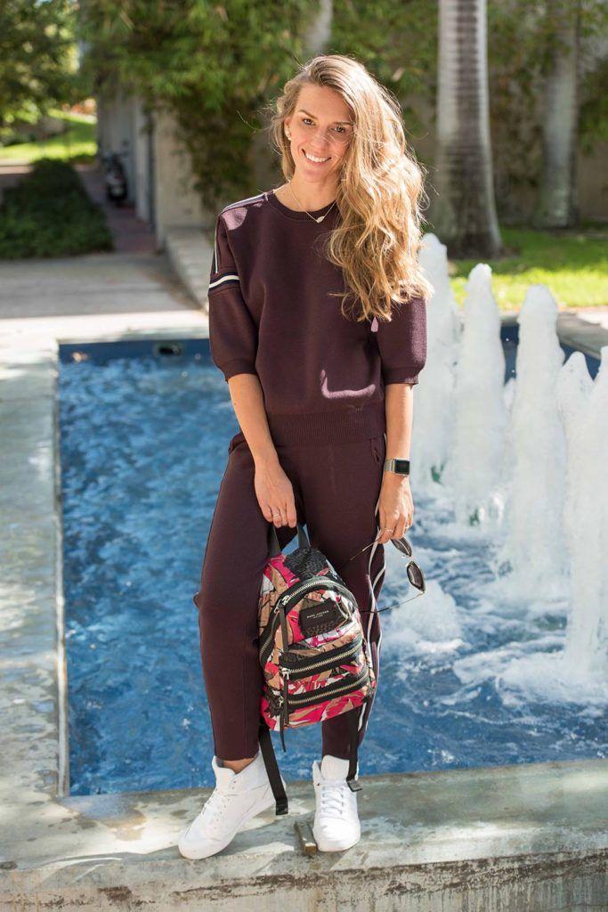 Спортивный костюм женский, кроссовки Adidas, модные мамы, советы стилиста,  как одеться, 3768a55546e