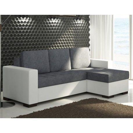 Optimisez Votre Salon Et Craquez Sur Le Canapé Dangle Convertible - Canape convertible blanc et gris