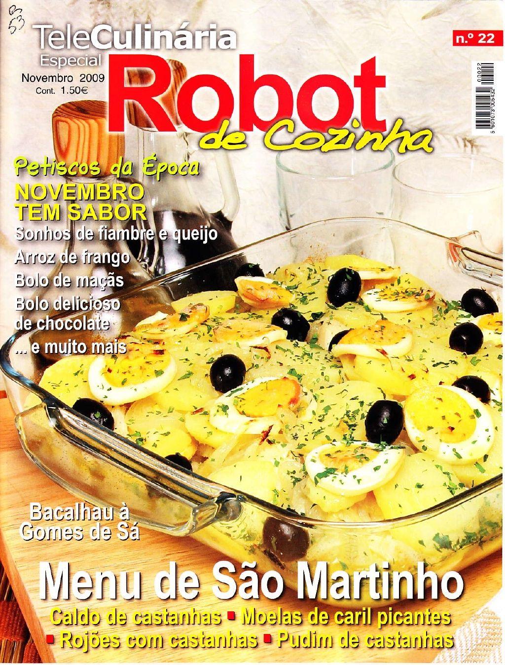 Robot de Cozinha 22 - Novembro