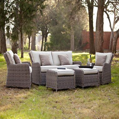 Jcpenney Com Rodanthe 5 Pc Outdoor Seating Set Outdoor Sofa Patio Furniture Sets Outdoor Furniture