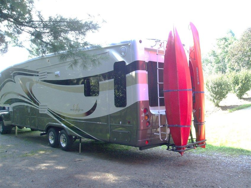 5th Wheel Kayak Carrier Edited By Terry And Jo On