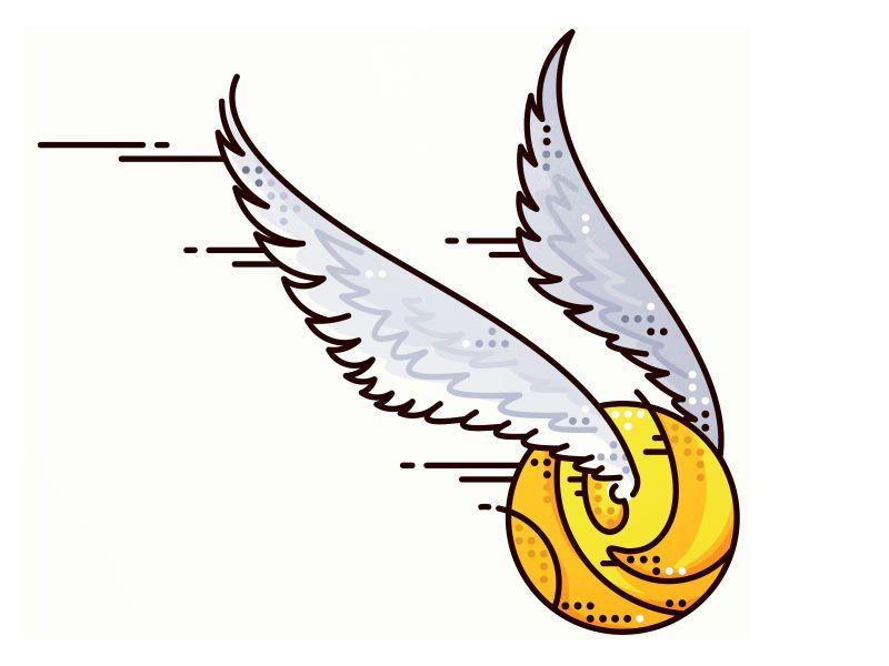 Harry Potter Golden Snitch Harry Potter Sketch Harry Potter Stickers Harry Potter Drawings