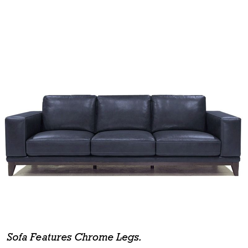 Reid Leather Sofa | Furniture and Mattress Outlet $699 ...