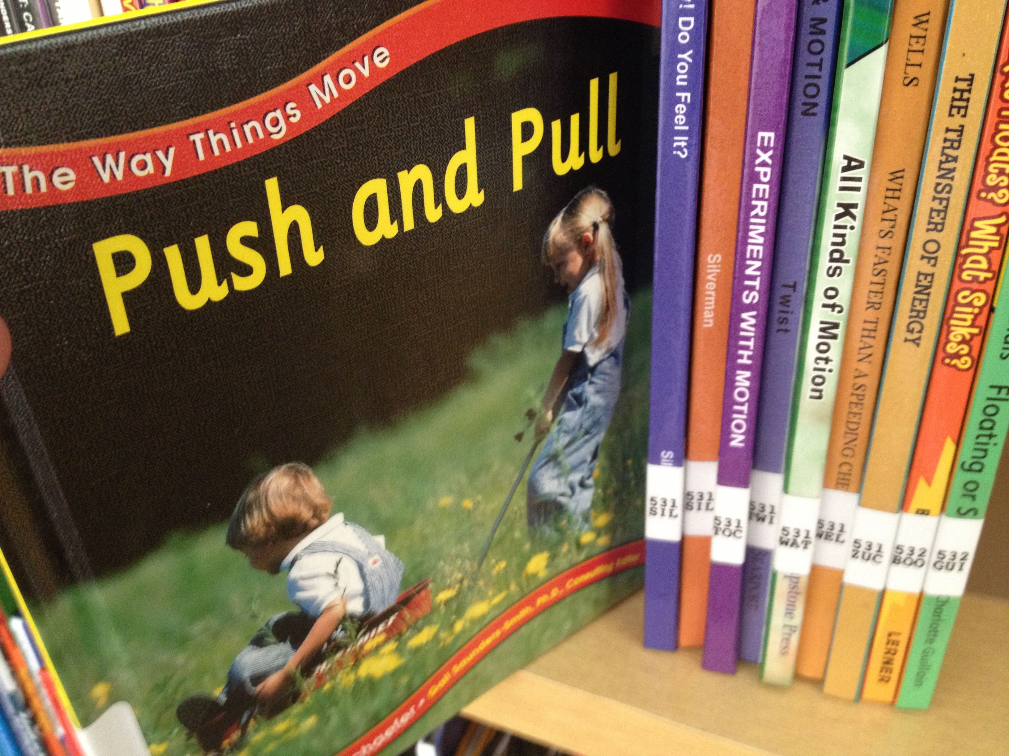 Push And Pull Books
