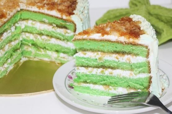 Pandan Coconut Gula Melaka Cake Ondeh Ondeh Cake Decorating Classes In Singapore Cake Decorating Classes Cake Baking Classes