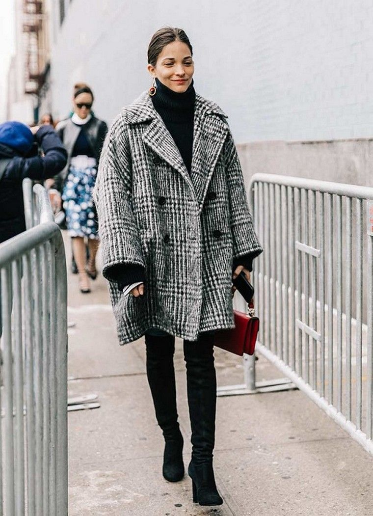 manteau femme look tendance automne hiver 2017 2018 mode femme carreaux 8e821451005