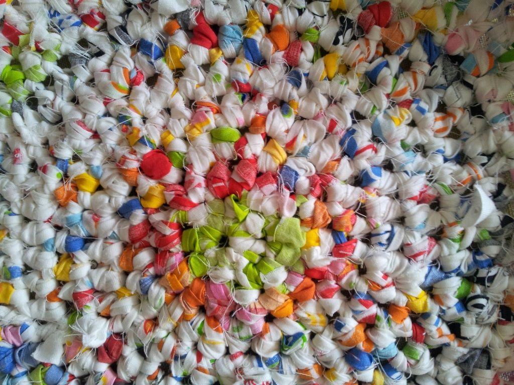 Ikea Rag Rug 5 Crochet Pattern Grandmas In Technicolour