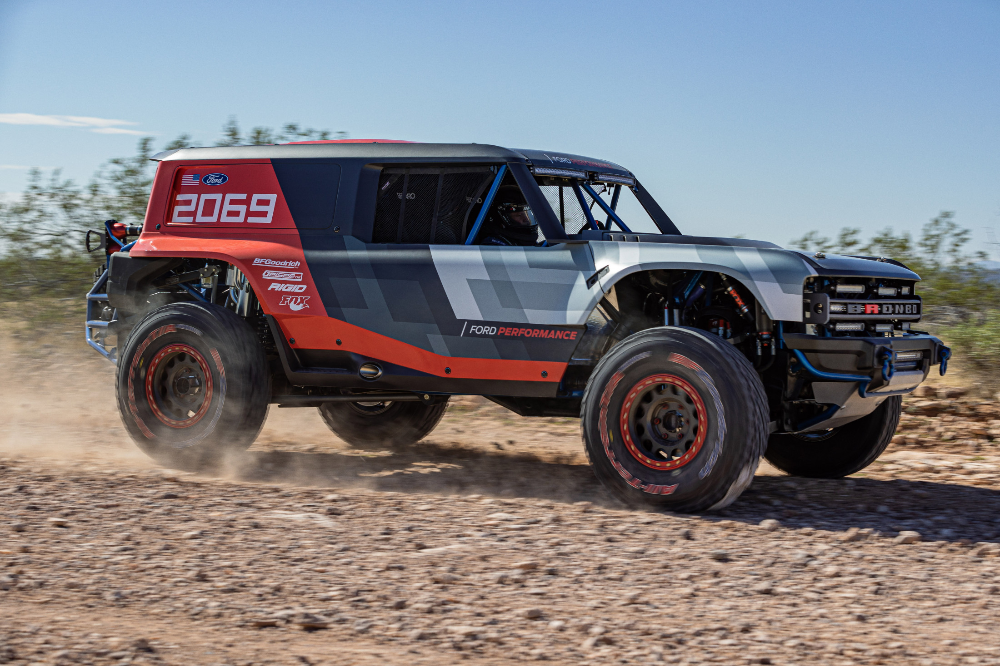Ford Unveils Bronco R Baja Racer Showcases Clues For Production