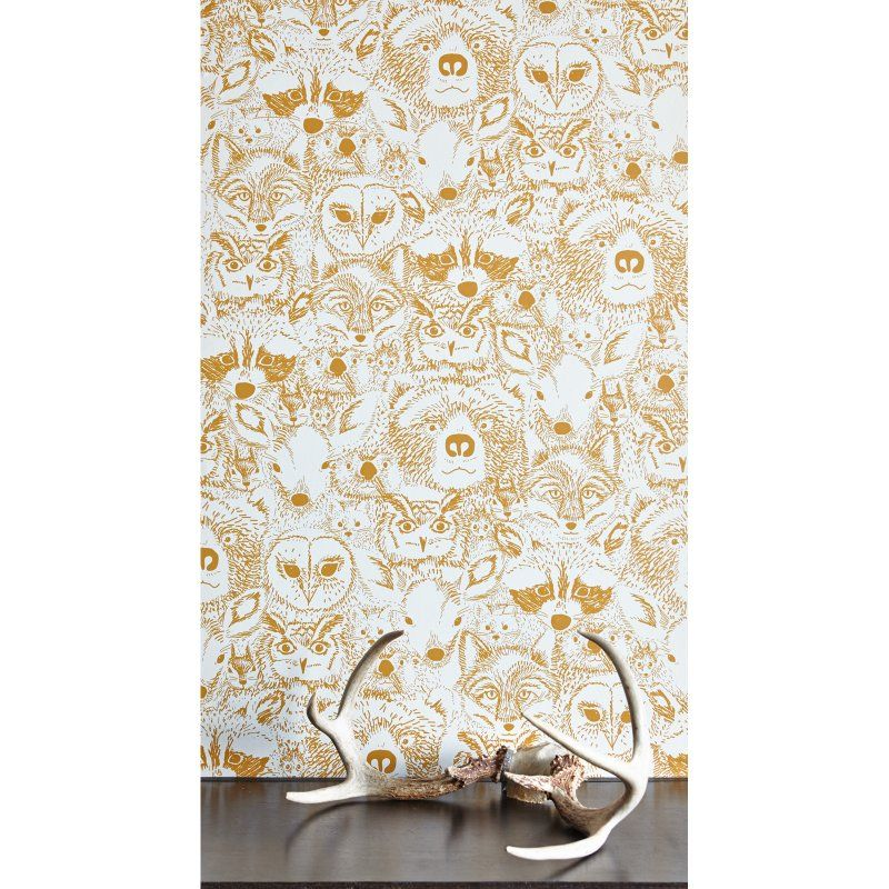 The Chasing Paper Wild Self-Adhesive Wallpaper brings nature to life—and to your home's high-visibility walls—with an intricately detailed pattern created by designer Sarah Watson for Chasing Paper. Ideal for accent walls or temporary decorating in home, office, or rental space, this self-adhesive paper comes in peel-and-stick panels for easy DIY application and removal. Available in a variety of vibrant colors, these panels measure 2W by 4H feet each. About Chasing Paper Founded in New York…