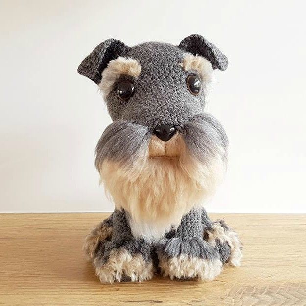 Mini Schnauzer Crochet Pattern Ideas Video Tutorial ...