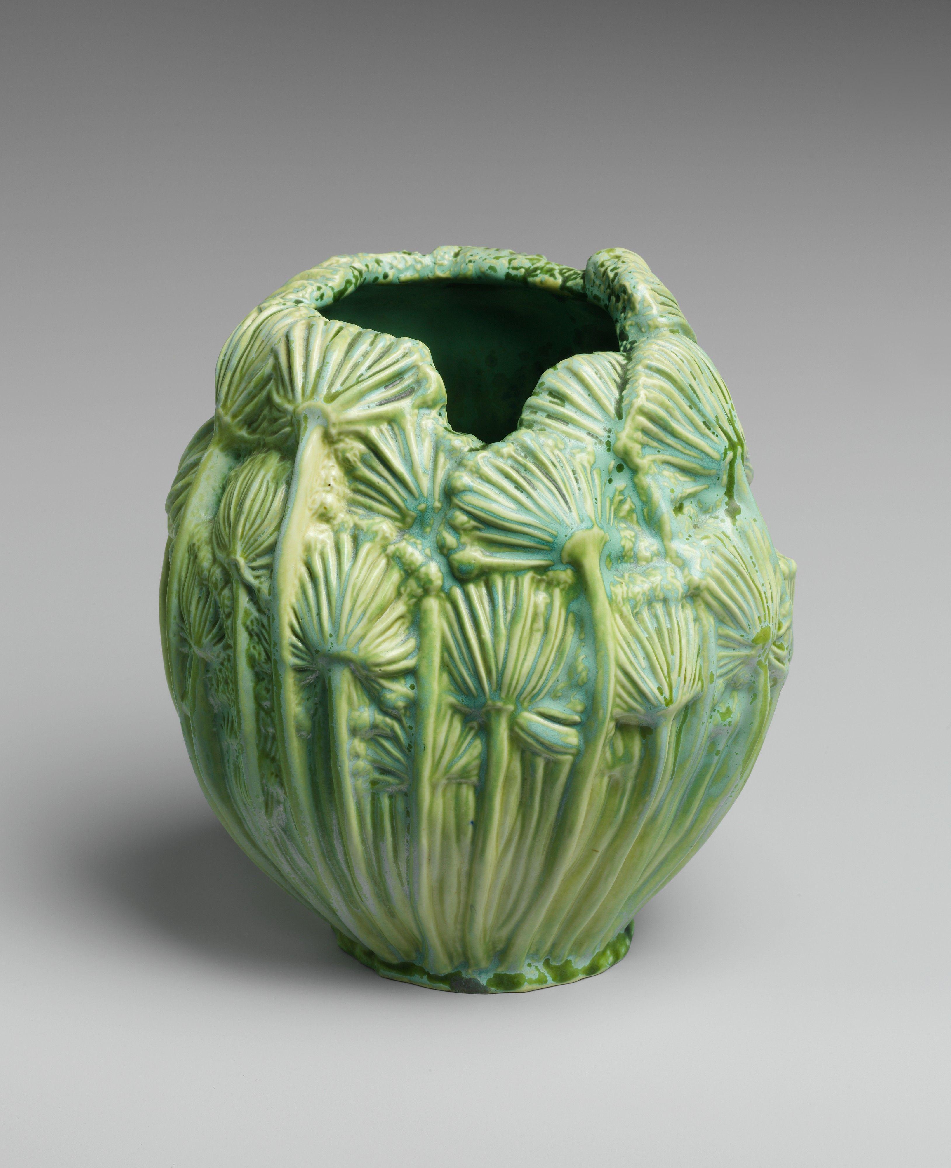 Vase designed by Louis Comfort Tiffany. #art #artglass # ...