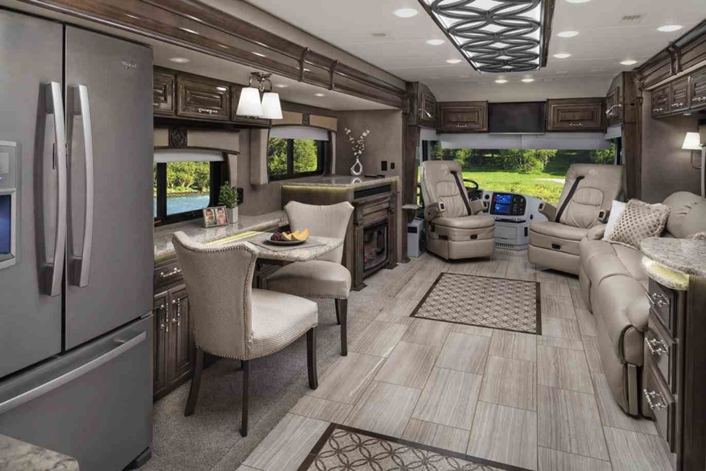 33 Luxurious Rv Interior Ideas For Comfortable Outdoor Holiday