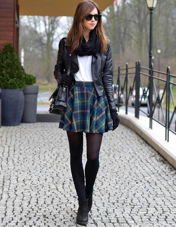 28 meilleures idées de jupe pour ajouter vos collections de garde-robe cet hiver