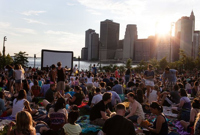 Nyc S Master Outdoor Movie Calendar For Summer 2015 Rooftop Bars