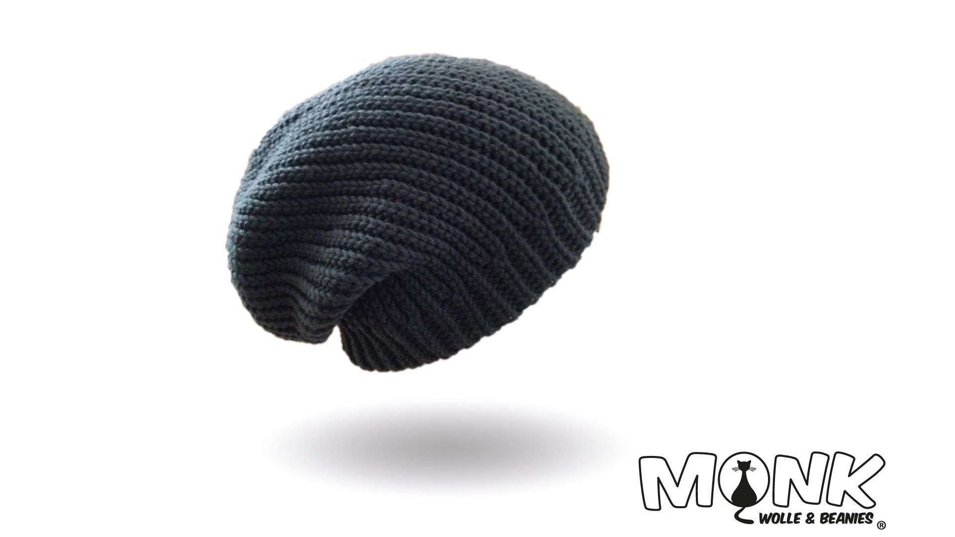 Longbeanie Bosnisch Häkeln Mütze Häkeln Kettmaschen Häkeln