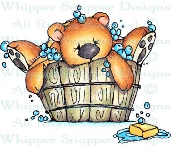 Sherman - Bears - Animals - Rubber Stamps - Shop