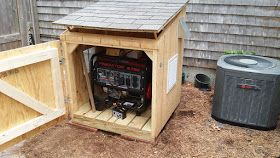 Generator House--Better Than the Design | Generator house ...