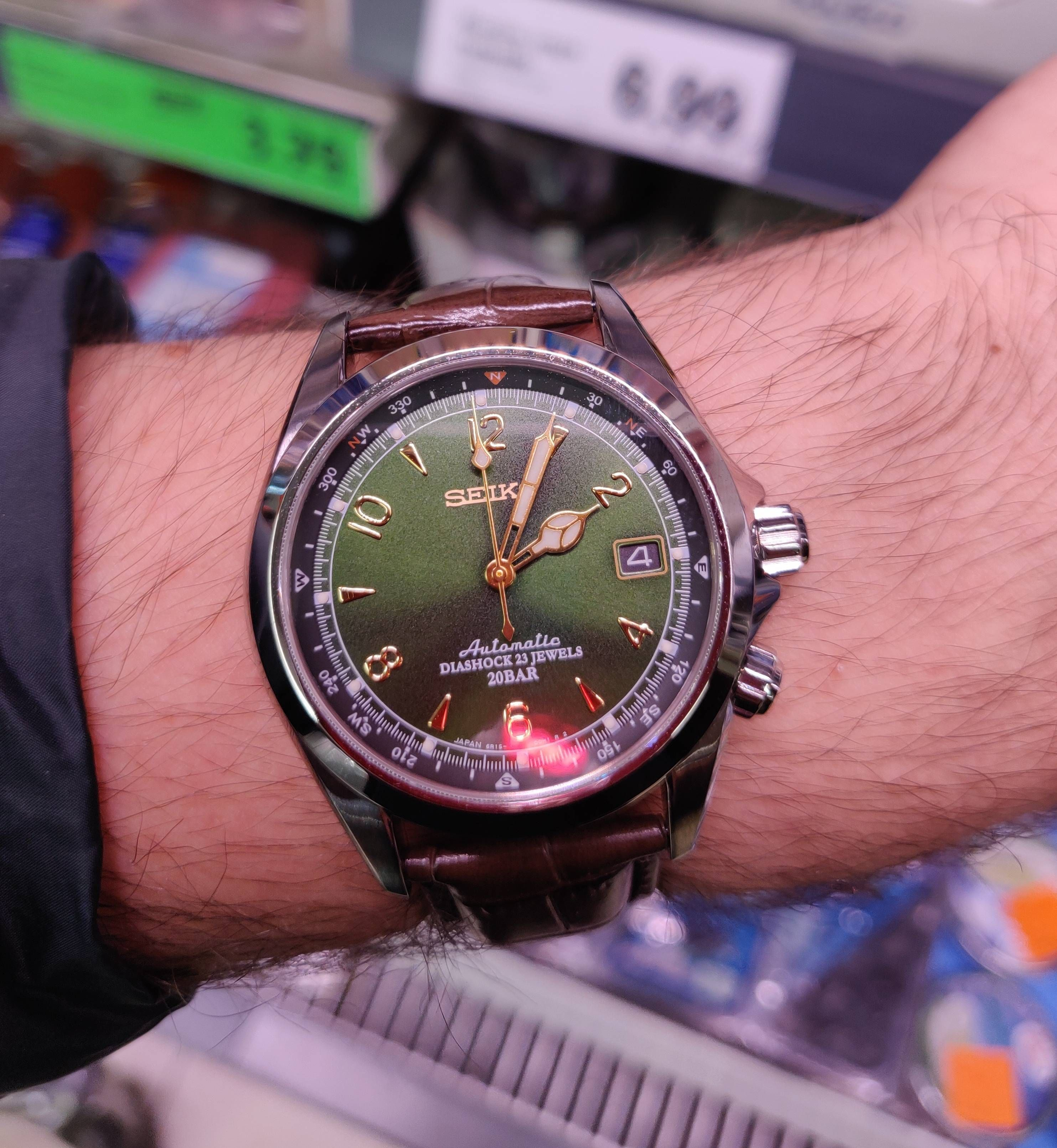 Seiko] The Alpinist - my current holy grail watch has